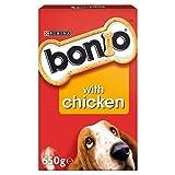 Bonio Biscuits Dog Food Chicken Flavour 650g - Case of 5 (3.25kg)