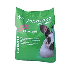 Supreme Rabbit Food Mix 15kg - Mr Johnsons Tpsupr1 by Pet-Bliss
