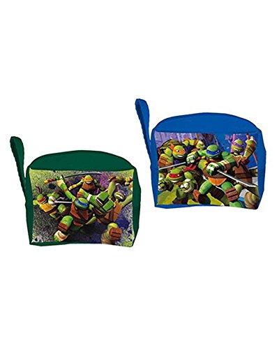 1081a91783 Tartarughe ninja astuccio con base, sintetico, multicolore, 17 x 9 x 23 cm