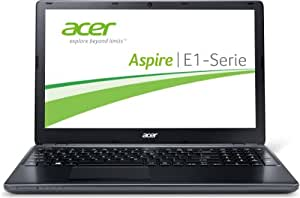 Acer Aspire E1-510-29202G50DNKK 39,6 cm (15,6 Zoll) Notebook (Intel Celeron N2920, 2GB RAM, 500GB HDD, HD Graphics, Win 8) schwarz