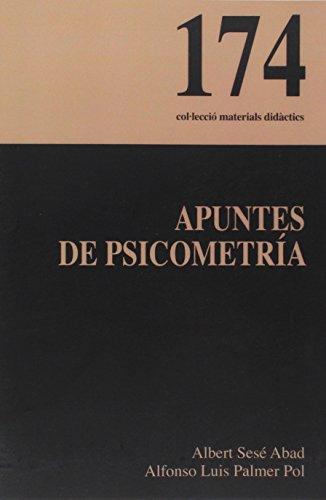 Apuntes de psicometría (Materials Didàctics)