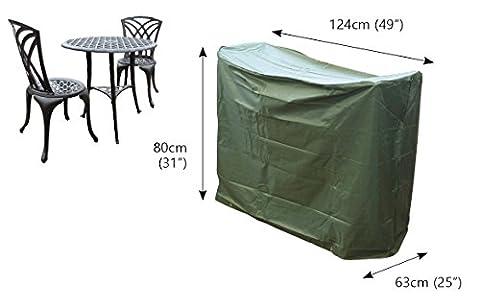 Couverture pour ensemble de bistro Under Cover Essentials - 2 places- 124cm x 63cm x 80cm