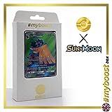 DECIDUEYE (SILVARO) GX SM37 Full Art - #myboost X Sun & Moon 1 - Box mit 10 Englische Pokémon-Karten