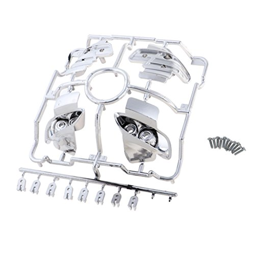 sharprepublic DIY Kunststoff Lampe Shell Cup Für RC 1/10 Modell Auto BMW M3