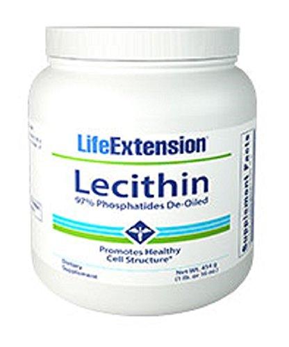 Life Extension,, la Lécithine, 16 oz (454 g)
