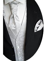 beytnur boda Chaleco con Plastron, toalla de inserción y corbata nº 5.2Talla 44–114