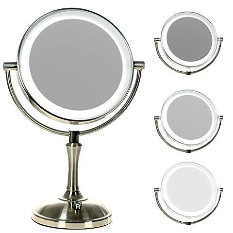 Miroir Grossissant 8 Fois - HIMRY LED 8 Pouces Lumineux