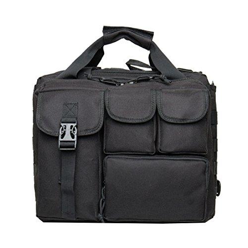 Yy.f Taktische Tasche Tarnung Tasche Wasserdichtes Oxford-Tuch Outdoor-Schultertasche Rucksack Militärbeutel Taschen-Computer 2 Farben Black