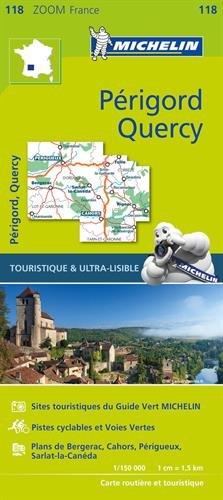 Carte Périgord, Quercy Michelin