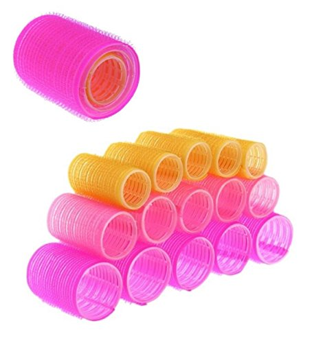 [Sponsored]Kelley Pack Of 18 Hair Rollers Three Sizes Hair Rollers Curlers Diy Styling Soft Curler Foam Tool Profesional...