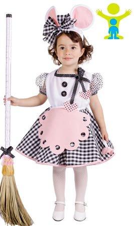 Imagen de disfraz de ratita presumida para niña  3 5 años