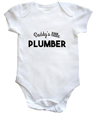 HippoWarehouse - Maillot de corps - Bébé (garçon) 0 à 24 mois - blanc - 2 mois