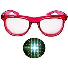 85b3eac7adb95 Wonderfulhony Doble primum difracción prisma rave gafas -2pcs