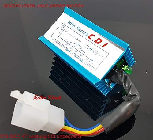 CDI Einheit (DC) offen Steuergerät 50ccm 5-Pin 4-Takt Chinaroller 139qm GY6 4T 7 Pin Einheiten