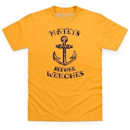 Mateys T-Shirt, Herren Gelb