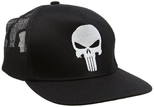 ll Cap Punisher-Kids, Schwarz, One size (Punisher Kostüm Mädchen)