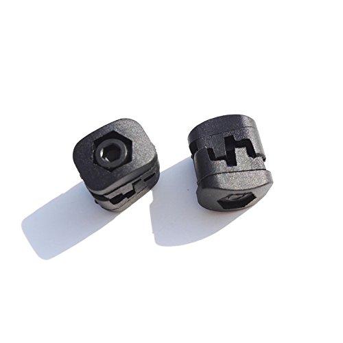 2 Pcs Bogenschießen Jagd Bogen Schnalle Kunststoff Verschluss für Compound Bogen Zubehör (Schnalle Bogen)