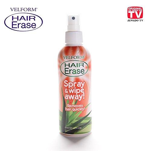Velform Hair Erase Schmerzlose Haarentfernungs- Spray - Original aus TV-Werbung