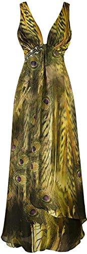 angel-fashions-maxi-abito-lungo-peacock-rilievo-backless-drappeggi-chiffon-delle-donne-s