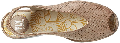 FLY London Damen Yazu736fly Pumps Braun (luna 010)