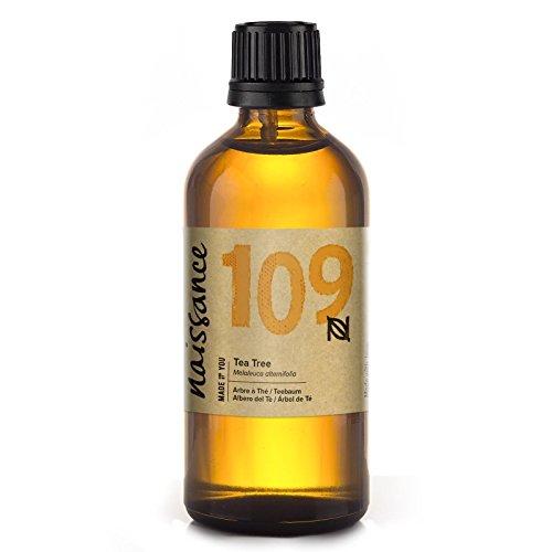 Naissance Aceite de Árbol de Té 100ml - 100% Puro, vegano y no OGM