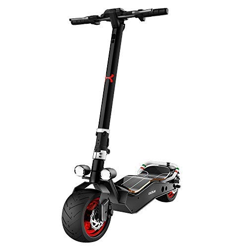 comprar Cecotec Patinete eléctrico Bongo Serie Z Red. Potencia máxima 1100 W, Batería extraíble, autonomía ilimitada Desde 45 km, tracción Trasera, Ruedas antirreventón de 12