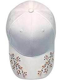 d702ff30330 Clemunn Stylish Unisex Men And Women Outdoor Holiday Sunshade Floral Print  Sun Hat Quick-dry Ventilation Baseball…