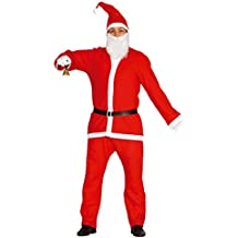 Guirca Disfraz Papá Noel adulto, color rojo, talla L (42692.0)