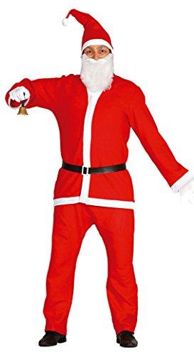 Imagen de guirca  disfraz papá noel adulto, talla l, color rojo 42692.0