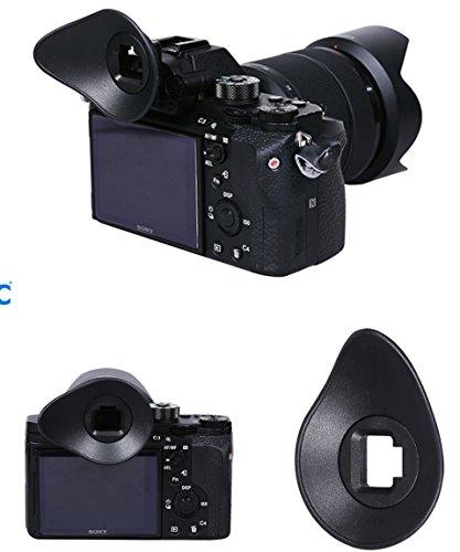 Alpha-sonnenschutz (Augenmuschel PROFOX ES-A7 für Sony α7 II, α7S II, α7R II, α7R, α7S, α7, α58, α99 II)