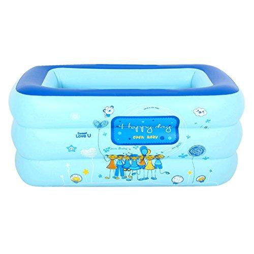 Eintauchende Bäder Infant Kind aufblasbares Schwimmbad Haushalt Kind Badewanne Baby Spielzeug aufblasbarer Pool Angeln Pool (größe : 160 * 125 * 60cm)