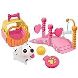 Cachorros Chubby tejen Carrier Polo Mini Playset Plus
