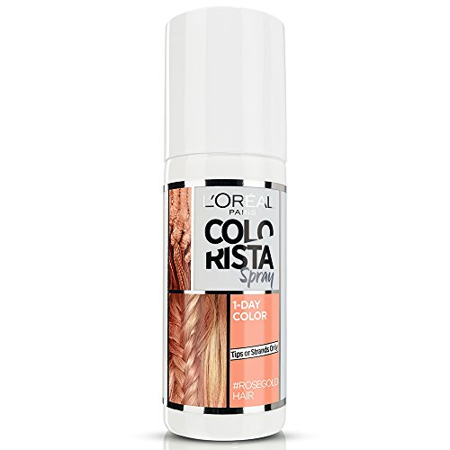 ista Spray 1-Day Color Temporäre ein Tag Rosa Oro (Rose Gold) ()