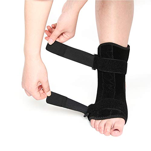 LXYQH Plantarfasziitis Rücken Nacht Tag Schiene Fußorthese Stabilisator Einstellbare Drop Fuß Orthese Unterstützung Schmerzlinderung -