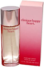 Clinique Happy Heart - Perfume for Women, 50 ml - Parfum Spray