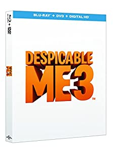 Despicable Me 3 (2D BD + digital download) [Blu-ray] [2017]