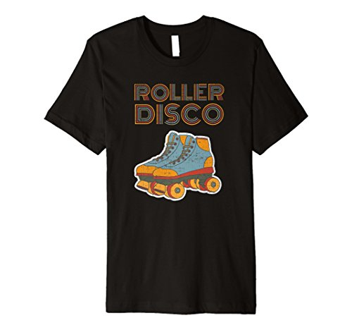 70er Jahre Retro T-shirts (Roller Disco Cooles Vintage Retro 70er und 80er Party T-Shirt)