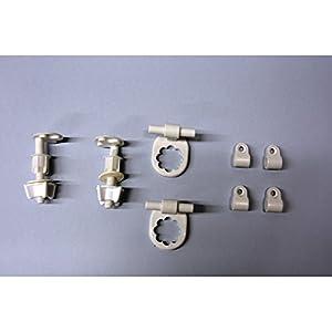 Roca – Kit Bisagra Nylon Asiento Magnum (AI0006800R)