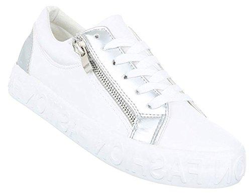 03eff686cd90ac Damen Freizeitschuhe Schuhe Sportschuhe Turnschuhe Sneaker Laufschuhe  Schwarz Weiß 36 37 38 39 40 41 Modell
