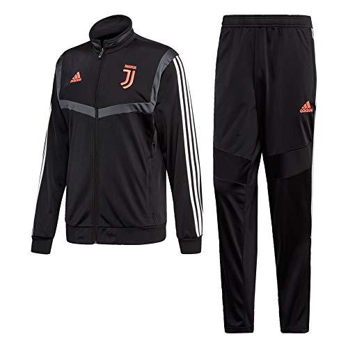 adidas Herren Fußballanzug Juventus PES 2XL Nero/Dkgrey