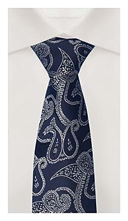Parsley Cravate bleu Fabio Farini