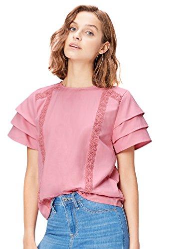 Find. 17amz803 magliette donna, rosa (old rose), 50 (taglia produttore: xx-large)