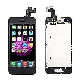 Pro-Mobile iPhone SE LCD Display Retina KOMPLETT VORMONTIERT Front incl.Reperaturwerkzeug Schwarz iPhone SE