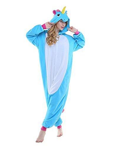 Karneval Halloween Pyjamas Schlafanzug mit Kapuze Erwachsene Cosplay Kostüm (Halloween-pyjama Für Frauen)