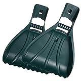 Leaf Shovels Blades Rastrelli Rake Hands Grabber Claw Rake Gorilla Garden Mani Leaf Rake Grabber, Giardinaggio e giardinaggio Hand Rakes Grass Cutting Rimozione erba del prato con rivestimento in PVC