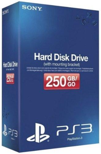Disque dur 250 Go + Support Disque dur pour PS3 Ultra slim