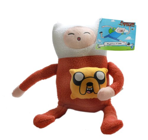 Adventure Time - Peluche, Finn in pigiama, 27,94 cm