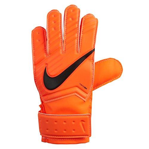 Nike Kid s Match Goalkeeper Gloves  Total Orange Hyper Crimson Black  Size 8