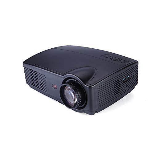 JackeyLove Android Home Mini Projektor, Unterstützung 1080P HD-Video, 3500 ANSI Lumens Pico Projektor, HDMI, U-Disk-Übertragung, geeignet für Home-Entertainment-Spiele