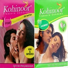 Kohinoor Pink Anatomic Indian Size 3s Multiple pack  available at amazon for Rs.15